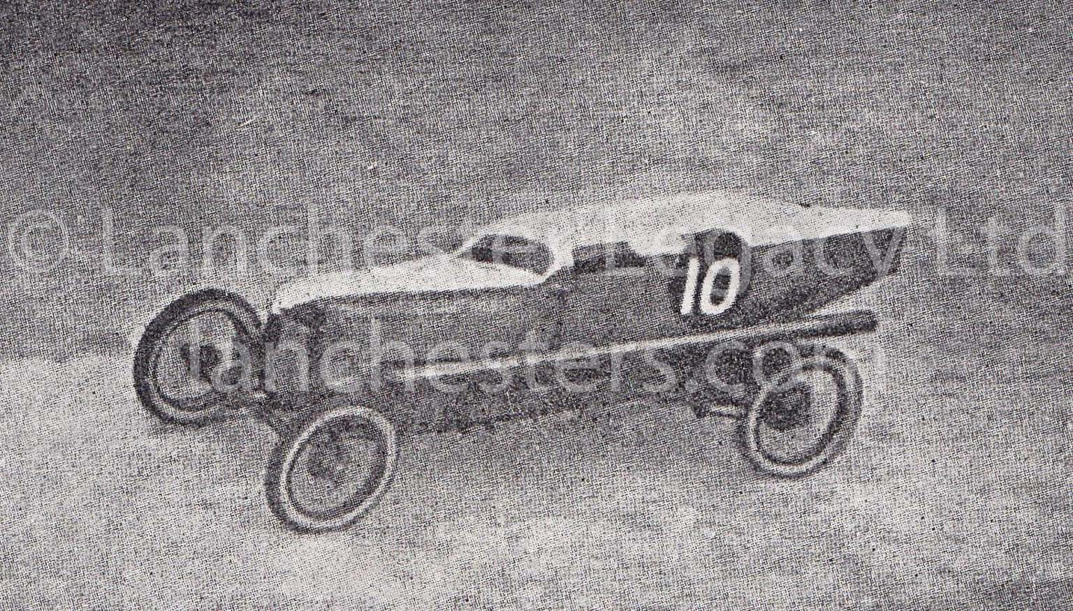 Lanchester 25hp Single-Seat Racer made in 1921 by Tommy Hann