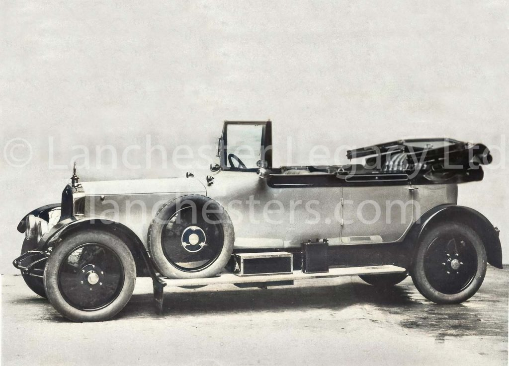 Lanchester 40hp Cabriolet