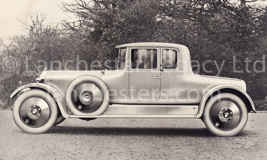Lanchester 40hp Coupe