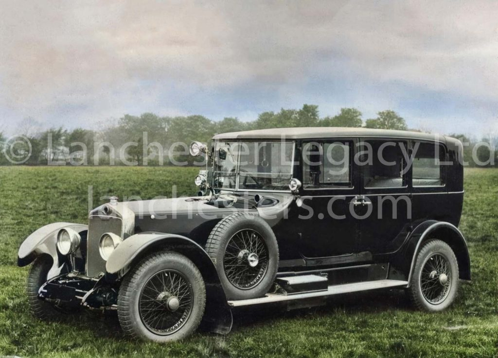 Lanchester 40hp Limousine off road