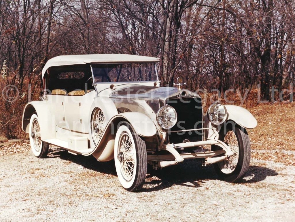 Lanchester 40hp Tourer owned by Buster Keaton